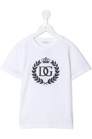 Dolce & Gabbana Crest crown logo T-shirt