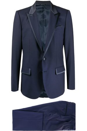 Dolce & Gabbana Contrast-trim two piece suit