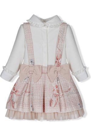 Lapin House Baby Casual Dresses - Bow-detail dress