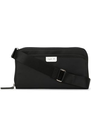 AGNÈS B. Zipped messenger bag