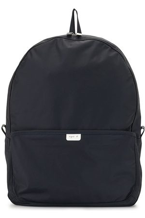 AGNÈS B. Logo-patch backpack