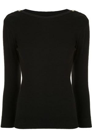 AGNÈS B. Badiane boat neck jumper
