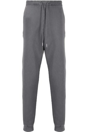 Thom Browne Logo patch track pants - Grey