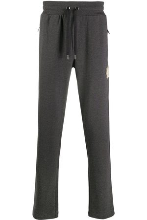 Dolce & Gabbana Logo-patch track pants - Grey