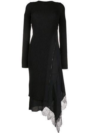 Nº21 Ribbed-Knit Side-Zip Dress