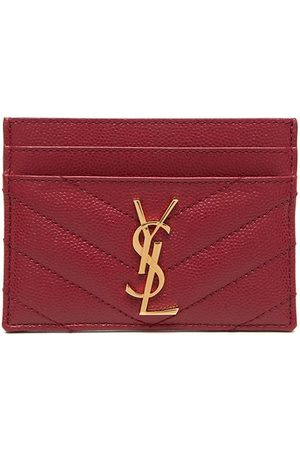 Saint Laurent Monogram quilted cardholder