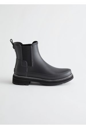 & OTHER STORIES Hunter Refined Stitch Chelsea Boots