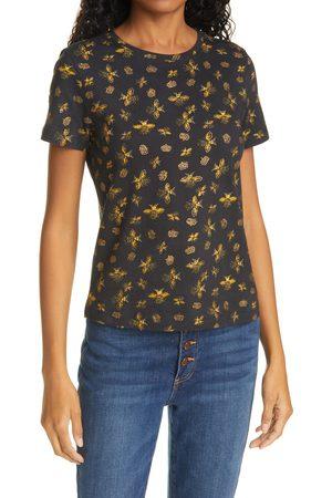 ALICE+OLIVIA Women's Rylyn Queen Bee Print Cotton T-Shirt