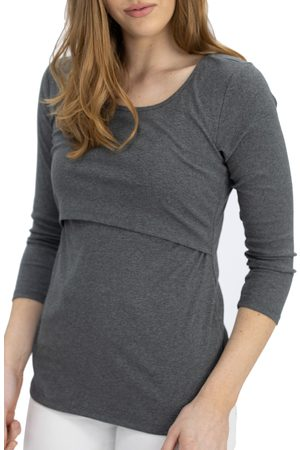 Angel Maternity Women's Pull-Up Maternity/nursing Top