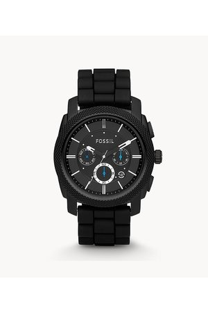 Fossil Men's Machine Chronograph Silicone Watch