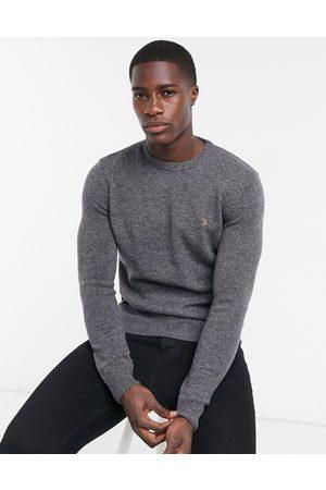Farah Rosecroft wool crew neck sweater in