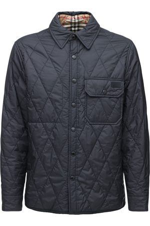 Burberry Quilted Reversible Tech Shirt Jacket