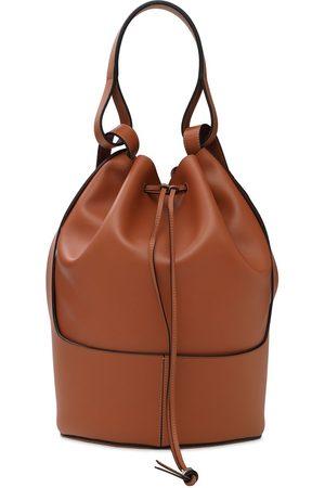 Loewe Balloon Bucket Leather Backpack