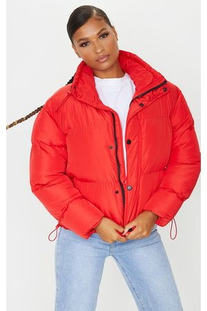 PRETTYLITTLETHING Toggle Detail Puffer Jacket