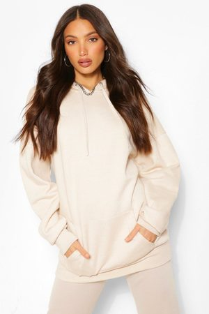 Boohoo Womens Tall Oversized Hoody - - 2