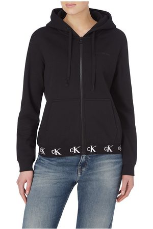 Calvin Klein Logo Trim Zip-through
