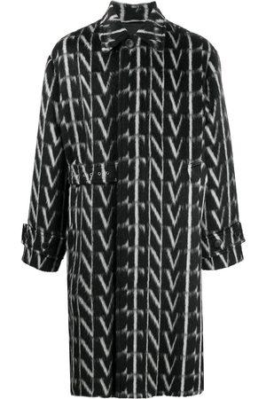 VALENTINO VLTN-print coat