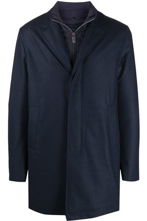 CANALI Layered rain coat