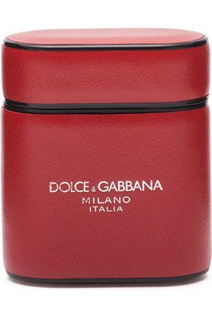 Dolce & Gabbana Logo-print Airpods case