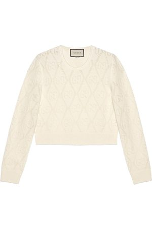 Gucci GG knit wool caridgan - Neutrals