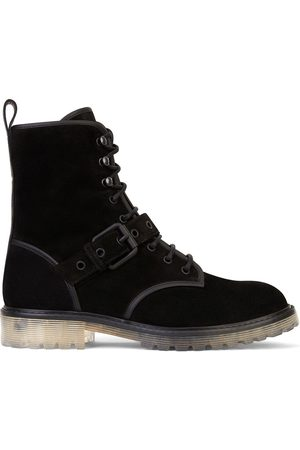 Giuseppe Zanotti Lace-up buckle detail boots