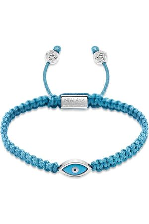 Nialaya Evil eye braided bracelet