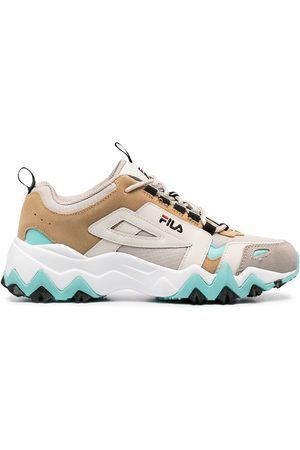 Fila Panelled lace-up trainers - Grey