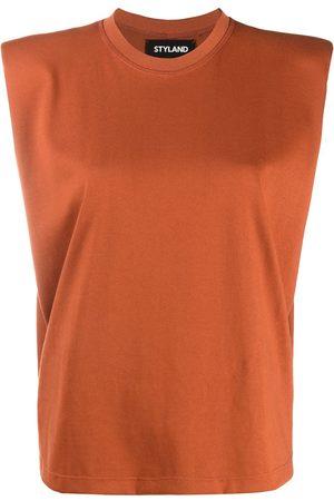 Styland Women Tank Tops - Boxy sleeveless T-shirt