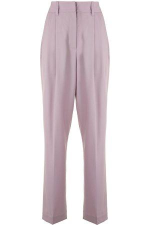 Brunello Cucinelli High-waist tailored trousers
