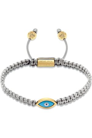Nialaya Evil eye braided bracelet - Grey
