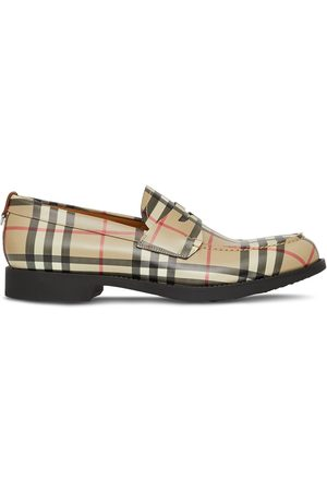 Burberry Men Loafers - Emile Vintage check loafers - ARCHIVE