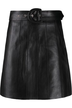 Sandro Women Mini Skirts - Belted mini skirt