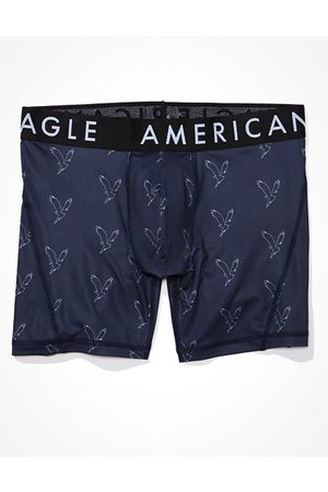 "American Eagle Outfitters O Eagle 6"" Horizontal Fly Flex Boxer Brief Men's XS"