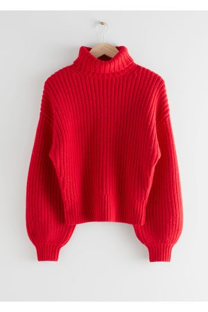 & OTHER STORIES Balloon Sleeve Knit Sweater