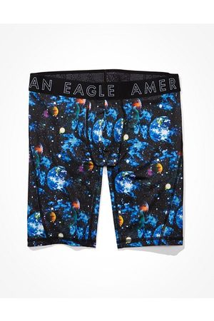 "American Eagle Outfitters O Milkyway 9"" Flex Boxer Brief Men's XS"