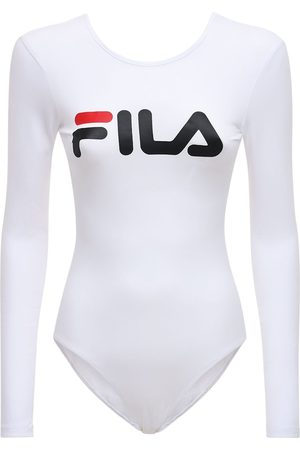Fila Logo Cotton Blend Bodysuit
