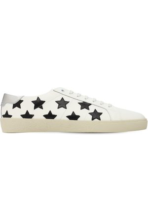 Saint Laurent Stars Leather Sneakers