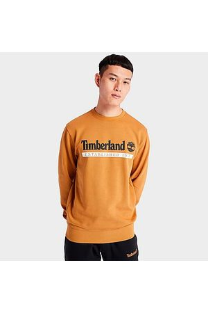 Timberland Men's Established 1973 Crewneck Sweatshirt in Size Medium Cotton/Polyester/Fleece