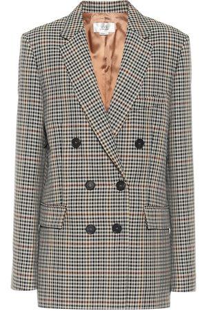 Victoria Victoria Beckham Checked wool-blend jacket