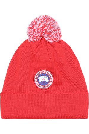 Canada Goose Merino wool pom-pom beanie