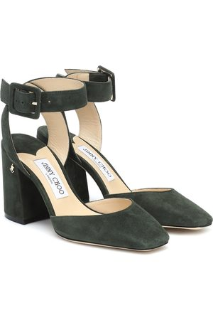 Jimmy Choo Jinn 85 suede pumps