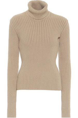 Bottega Veneta Ribbed-knit wool-blend turtleneck sweater