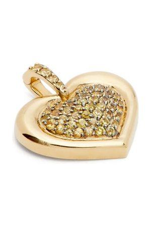 Nadine Aysoy Catena Heart Sapphire & 18kt Charm - Womens