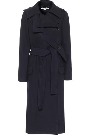 Stella McCartney Wool twill trench coat