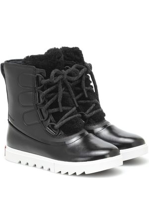 sorel Joan Of Arctic Next Lite leather snow boots