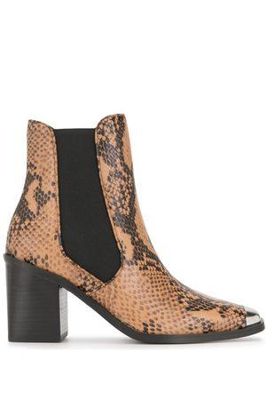 SENSO Silver toe cap boots