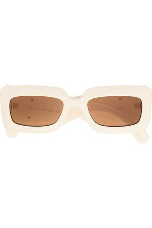 Gucci Oversized square sunglasses - Neutrals