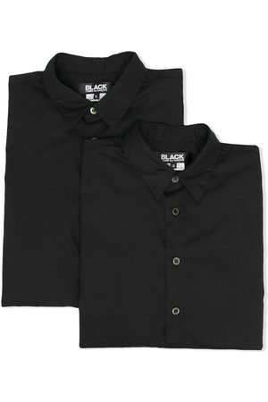 Comme des Garçons Patch-pocket longsleeved shirt
