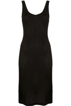 Lisa Von Tang Fitted tank dress