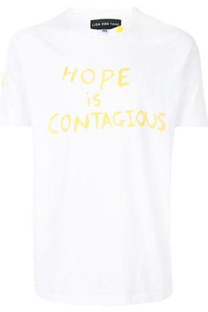 Lisa Von Tang Slogan print T-shirt